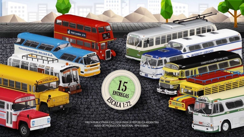 autobuses del mundo - n°9 mercedes benz 355 - brasil
