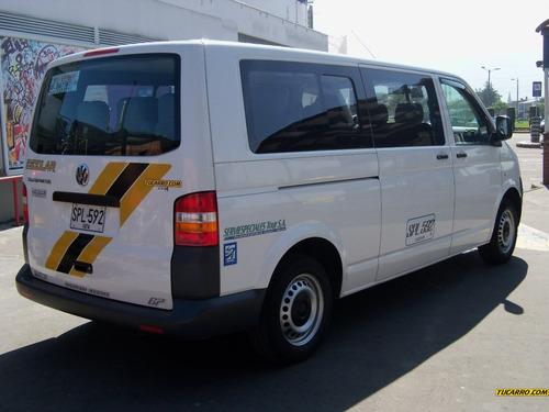 autobuses microbuses volkswagen transporter t5 2009