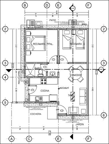 autocad 2019 . aplicado a dibujo de arquitectura