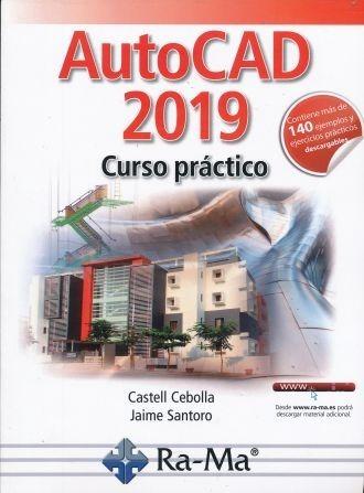 autocad 2019 curso practico   140 ejemplos y ejercicios