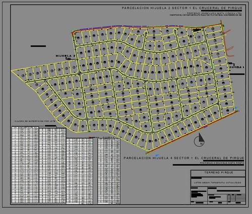 autocad dibujo / digitalizacion de planos