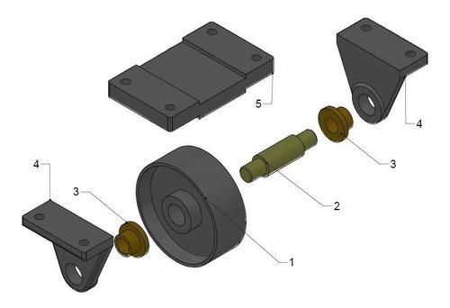 autocad modelado 3d y dibujo 2d planos piezas mecanicas