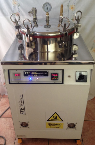autoclave esterilizador a vapor  - efe clave -