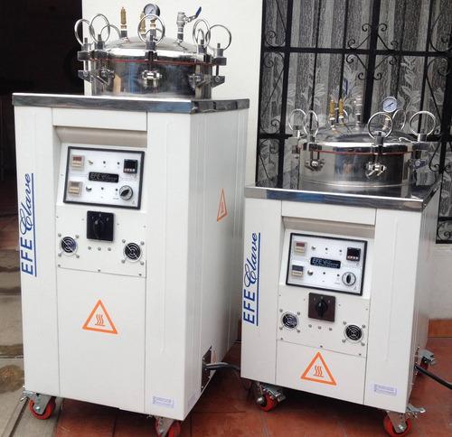 autoclave industrial  200 litros  -  efe clave -