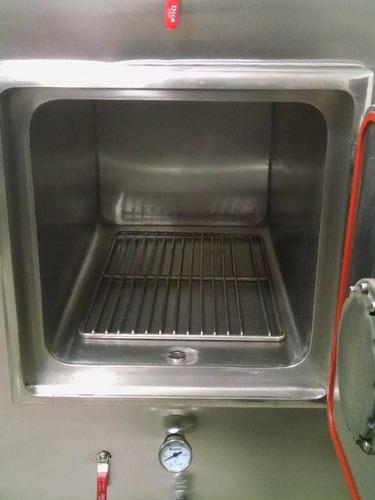autoclave vapor autogenerado tipo amsco