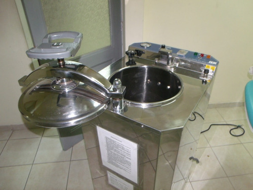 autoclave vapor vertical medico dental hospitales clinicas