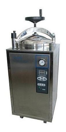 autoclave vertical eléctrica semi automática 50 litros