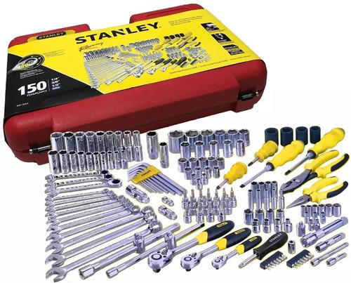 autocle 1/2-3/8-1/4  150 pz racing rojo r99-150la stanley