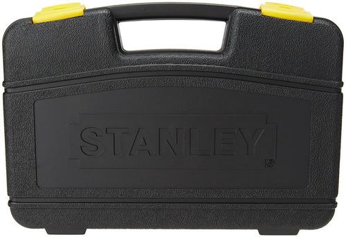 autocle 3/8-1/4 con 37 pzas cromo negro stanley 87-320 envio