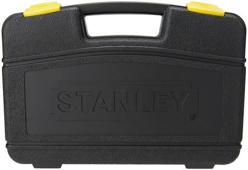 autocle juego herramientas 37 pc cromo negro 87320 stanley