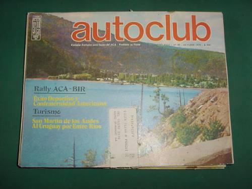 autoclub 99 -10/78- rally aca bir exito deportivo turismo