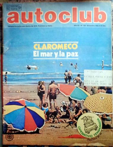 autoclub jun 1982 54p buen estado salvo tapas y parte superi