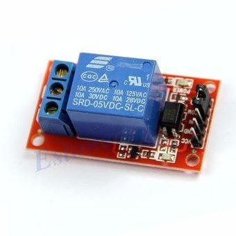 autocoplador módulo de relé canal h/l 5v nivel diparo arduin
