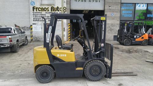 autoelevad daewoo 2.5 ton diesel