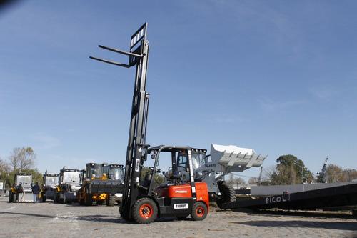autoelevador 0 km 2.5 ton torre triple autoelevadores taurus