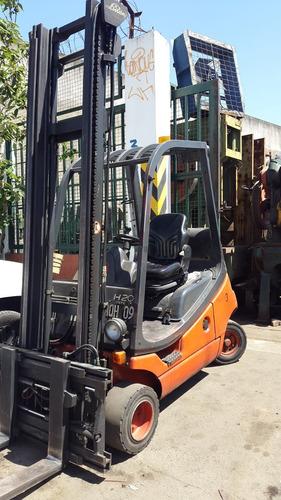 autoelevador 2000 kg diesel linde