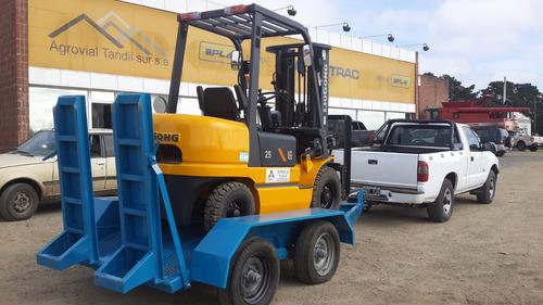 autoelevador 2,5 t torre  4,5 mts diesel liugong nuevo