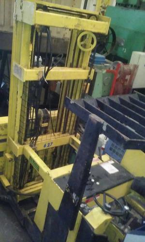 autoelevador apilador raymond preparador pedido c/bateri