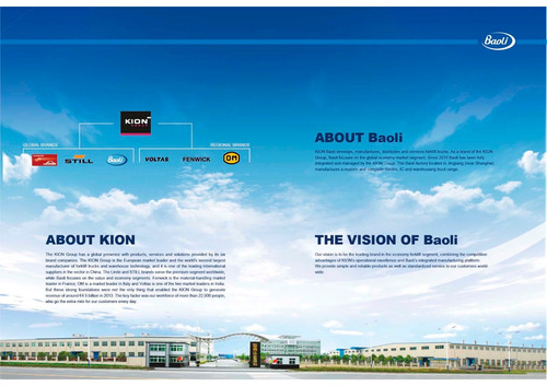 autoelevador baoli 2.5 ton. diesel e3 -garantido- kion group