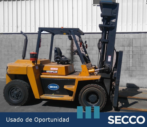 autoelevador cat 7.0 tn diesel, usado de oportunidad