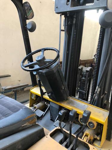 autoelevador cat c60 diesel 3tn triple torre c/desplazador