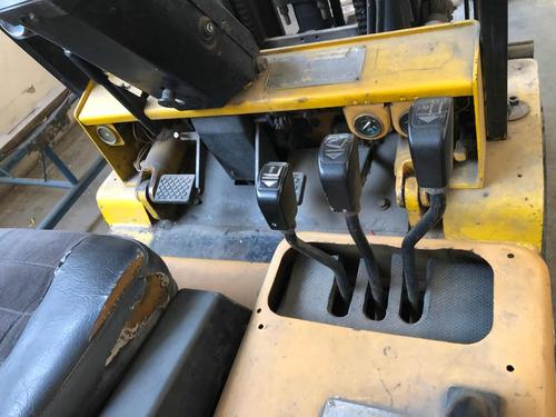 autoelevador cat diesel 3tn triple torre c/desplazador,envio
