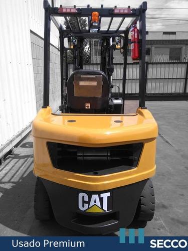 autoelevador cat usado 3.5 tn diesel, premium