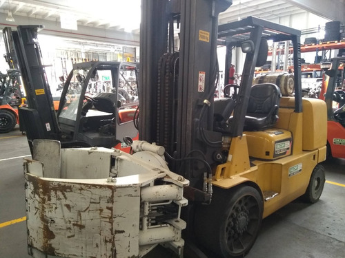 autoelevador caterpillar -  gc70 - 7 tn - usado