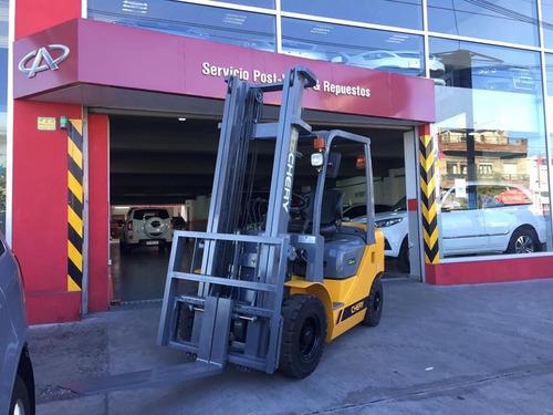 autoelevador chery by zoomlion 2,5 toneladas 0km-nuevos