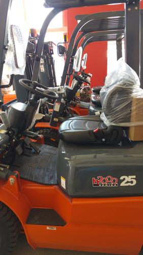 autoelevador chl (heli) 0km triple motor isuzu u$s 21.500 !!