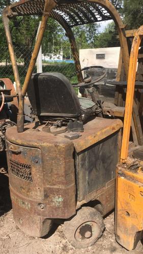 autoelevador clark 1500kg c/bateria/cargador remate 20/2