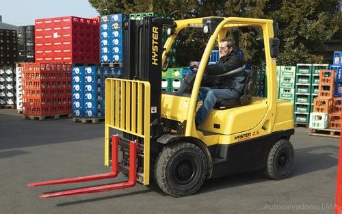 autoelevador contrabalanceado ci 2500kg hyster h2.5xt