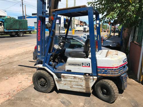 autoelevador  diesel komatsu