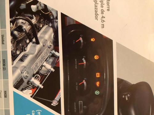 autoelevador electicos fortia,hh30/35. excelente autonomia.