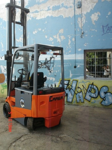 autoelevador electrico carer 2000kg 4 mts no clarck no sampi