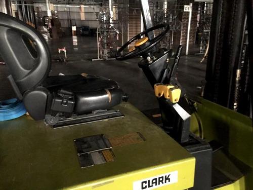 autoelevador electrico clark - excelente oportunidad!!!