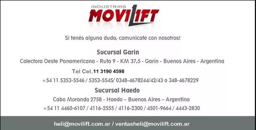 autoelevador  electrico  heli  ind. movilift srl