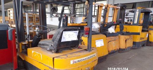 autoelevador electrico jungheinrich aleman c/bateria cargado