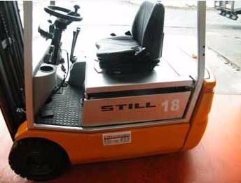 autoelevador electrico still r20-16 - cel 098154994