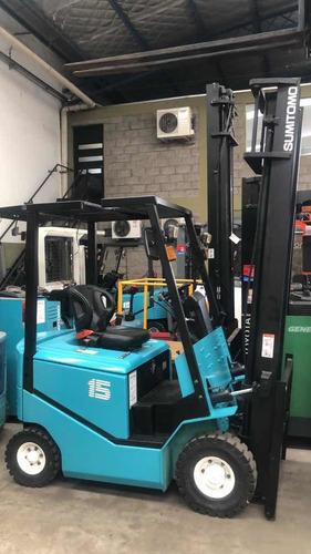 autoelevador  electrico sumitomo yale 1500kg garantia japon