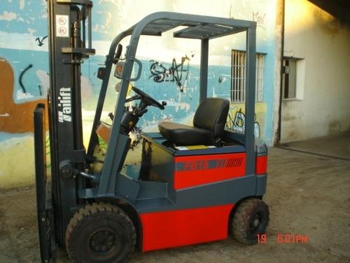 autoelevador electrico tailift 1800kg 4,7 m c/desp, m/bueno