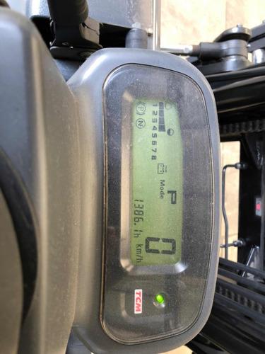 autoelevador  electrico tcm 2.5tn 1300hs garantia japon