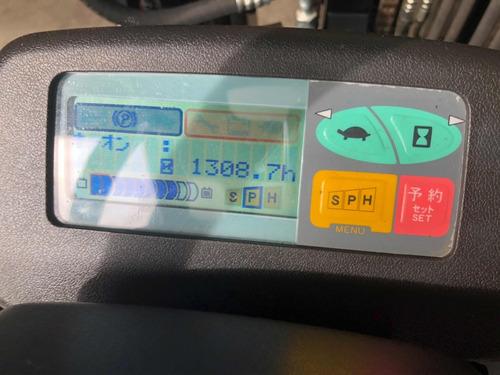 autoelevador  electrico toyota triple/despl garantia japon