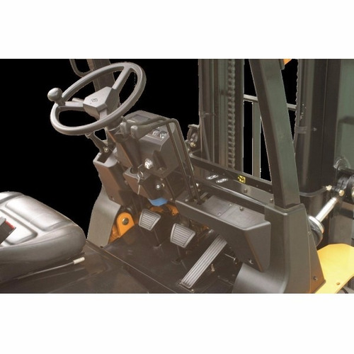 autoelevador equus 2.5t diesel torre triple 4.8m linea max