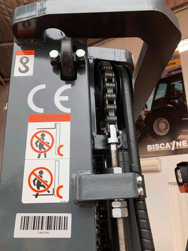 autoelevador goodsense fb20 eléctrico bat. hoppecke anticipo