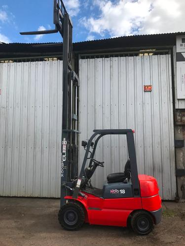 autoelevador heli 1800 kg , año 2011 diesel