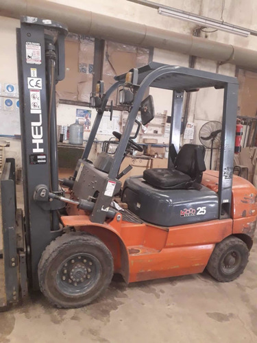 autoelevador heli 2012 diesel isuzu 5mil hs envio a interior