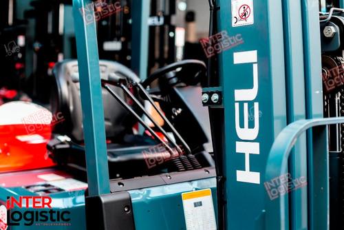 autoelevador heli interlogistic 2500 kg nuevo 0 km