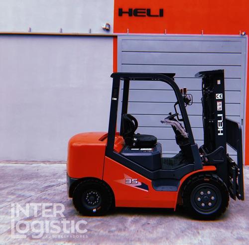 autoelevador heli interlogistic 3500 kg nuevo 0 km