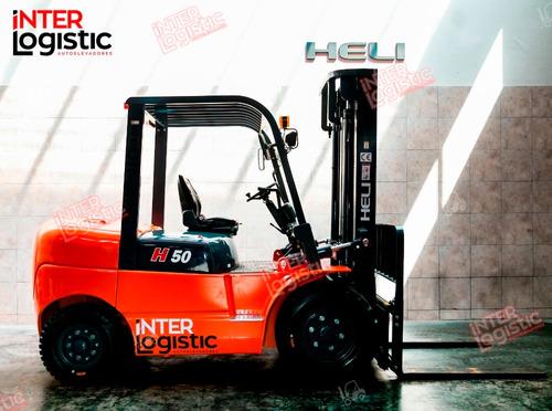 autoelevador heli interlogistic 5000 kg nuevo 0 km
